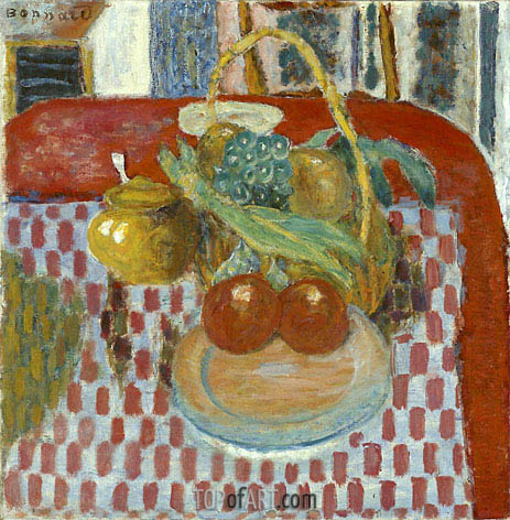 Pierre Bonnard | The Checkered Tablecloth, 1939