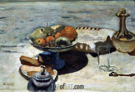 Pierre Bonnard | Table Laid for Dessert, undated