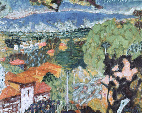 Landscape, undated | Pierre Bonnard | Painting Reproduction