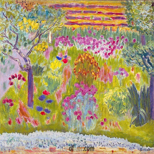 Pierre Bonnard | Garden: Meadow in Bloom, c.1935