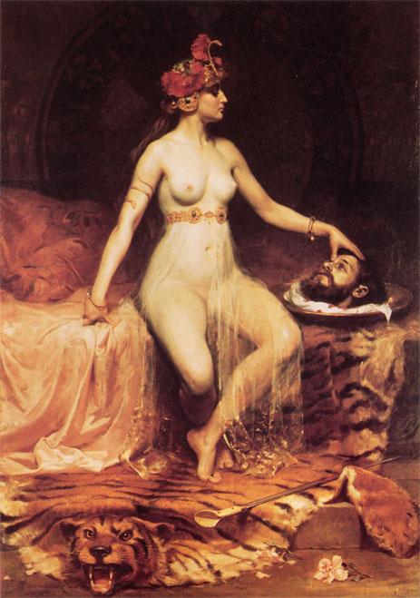 Salome,  | Pierre Bonnaud | Painting Reproduction