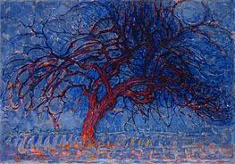 Abends: Der Rote Baum, c.1908/10 von Mondrian | Gemälde-Reproduktion