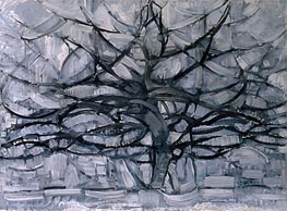 The Gray Tree, 1911 by Mondrian | Painting Reproduction