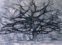 The Gray Tree | Mondrian | Painting Reproduction