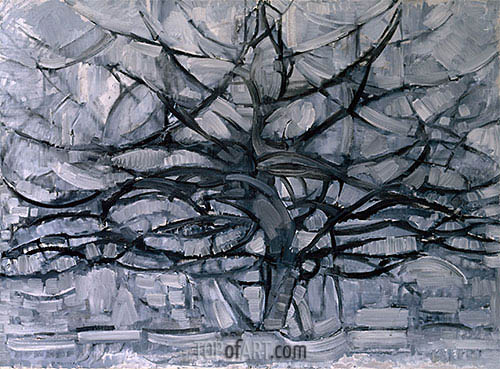 Mondrian | The Gray Tree, 1911