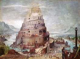 Tower of Babel, a.1563 by Pieter Bruegel the Younger | Painting Reproduction