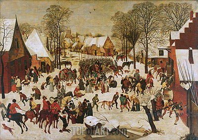 Massacre of the Innocents, a.1566 | Pieter Bruegel the Younger| Painting Reproduction