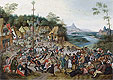 St George Kermis with the Dance Around the Maypole | Pieter Bruegel the Younger
