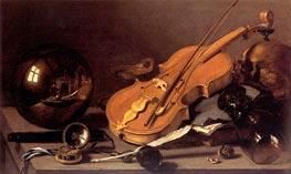 Vanitas Still Life, c.1628/30 by Pieter Claesz | Painting Reproduction