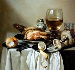 Stil Life | Pieter Claesz | Painting Reproduction