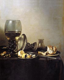 Still Life, 1637 by Pieter Claesz | Painting Reproduction