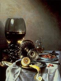 Still Life | Pieter Claesz | Gemälde Reproduktion