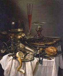 Breakfast with Fish | Pieter Claesz | veraltet