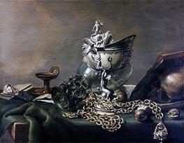 Vanitas-Stilleben | Pieter Claesz | Gemälde Reproduktion