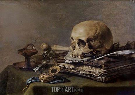 Pieter Claesz | Vanitas Still Life, 1630