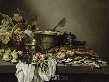 Stil Life, 1651 | Pieter Claesz | Painting Reproduction