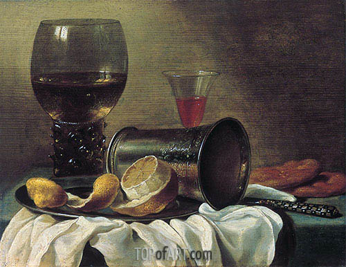 Pieter Claesz | Still Life with Rummer, c.1645/48