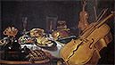 Still Life with Musical Instruments | Pieter Claesz