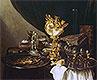 Still Life with a Nautilus Cup   Pieter Claesz