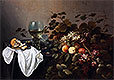Still Life with Fruit and Roemer | Pieter Claesz