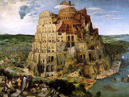 The Tower of Babel | Bruegel the Elder | Gemälde Reproduktion