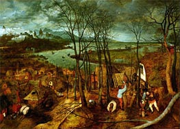 The Gloomy Day | Bruegel the Elder | Painting Reproduction