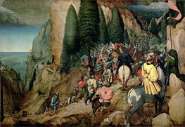The Conversion of Saul | Bruegel the Elder | Gemälde Reproduktion