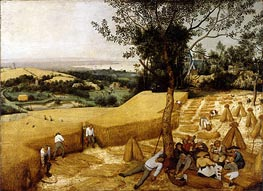 The Harvesters | Bruegel the Elder | Painting Reproduction