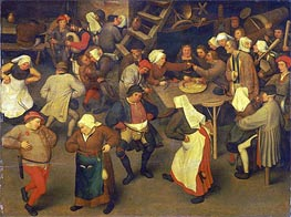 Wedding Dance, c.1567/69 by Bruegel the Elder | Painting Reproduction