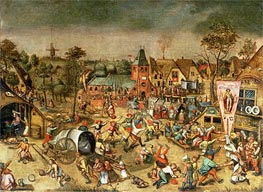 The Kermesse of the Feast of St. George | Bruegel the Elder | Painting Reproduction