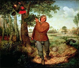 Peasant and Birdnester, 1568 by Bruegel the Elder | Painting Reproduction
