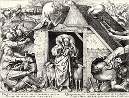 The Parable of the Good Shepherd, 1565 by Bruegel the Elder   Painting Reproduction