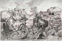 Prospectus Tyburtinus, Undated by Bruegel the Elder   Painting Reproduction