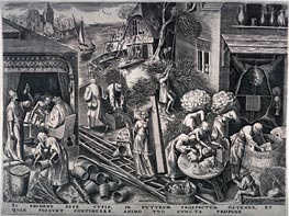 Prudence, 1558 by Bruegel the Elder   Painting Reproduction