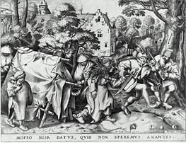 Marriage of Mapsus and Nisa, 1570 by Bruegel the Elder | Painting Reproduction