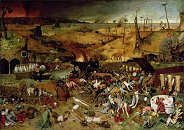 The Triumph of Death, c.1562 by Bruegel the Elder | Painting Reproduction