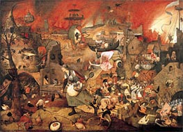 Dulle Griet (Mad Meg), 1564 by Bruegel the Elder   Painting Reproduction