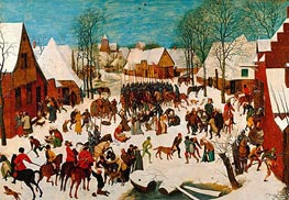 Massacre of the Innocents, c.1565/67 by Bruegel the Elder | Painting Reproduction