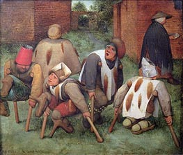 The Beggars, 1568 by Bruegel the Elder | Painting Reproduction