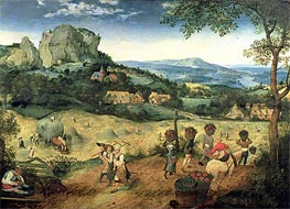 Haymaking, 1565 by Bruegel the Elder | Painting Reproduction