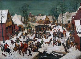 Massacre of the Innocents, 1565 by Bruegel the Elder | Painting Reproduction