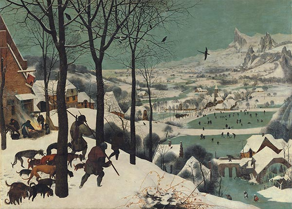 The Hunters in the Snow (Winter), 1565 | Bruegel the Elder | Gemälde Reproduktion