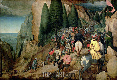 The Conversion of Saul, 1567 | Bruegel the Elder| Painting Reproduction