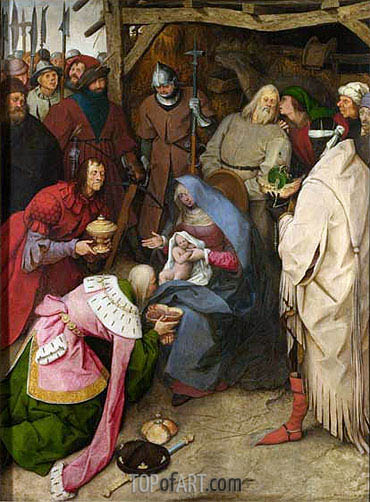 The Adoration of the Kings, 1564 | Bruegel the Elder| Painting Reproduction