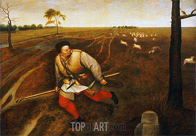 The Unfaithful Shepherd, c.1567/69 | Bruegel the Elder| Painting Reproduction