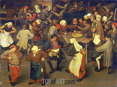 Wedding Dance, c.1567/69 | Bruegel the Elder | Painting Reproduction