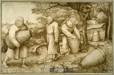 Bruegel the Elder | The Beekeepers, 1567