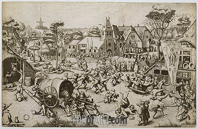 The Fair on St. George's Day, c.1559/60 | Bruegel the Elder| Painting Reproduction