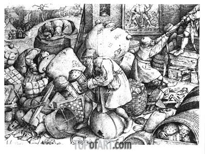 Everyman,  | Bruegel the Elder| Painting Reproduction