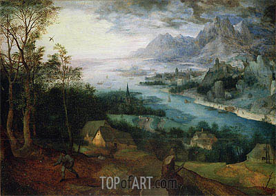 The Parable of the Sower, 1557 | Bruegel the Elder | Painting Reproduction